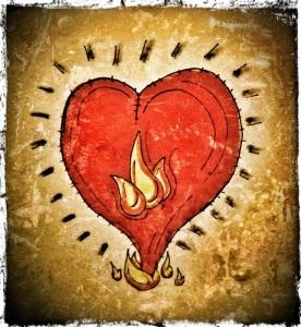 Sketchy Heart Light